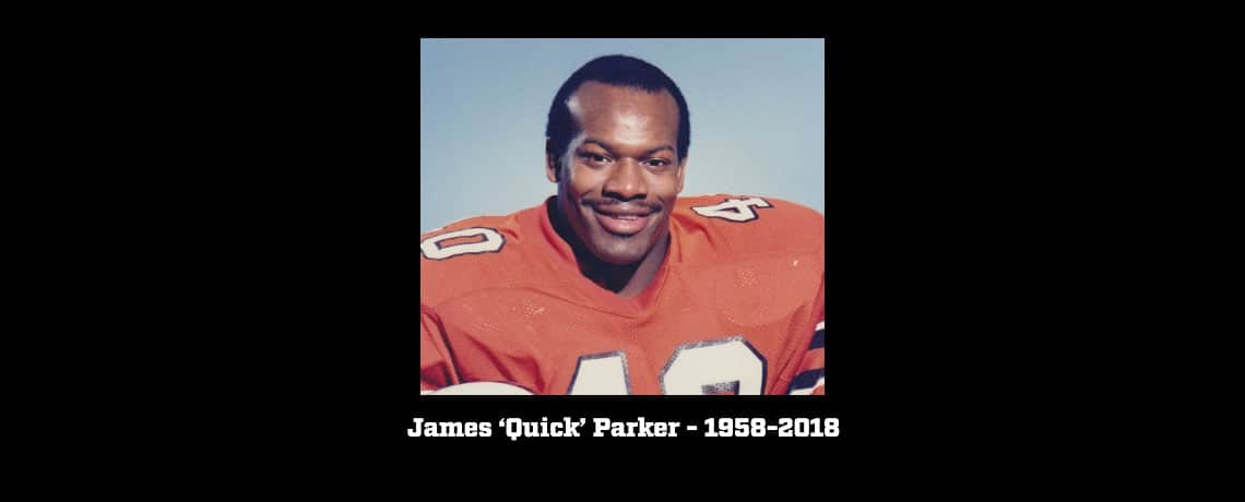 BC Lions and CFL Family Mourn The Passing of James 'Quick' Parker