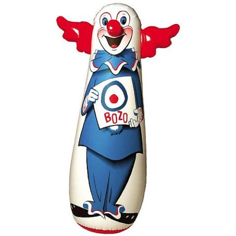 Bozo the evil clown banker.