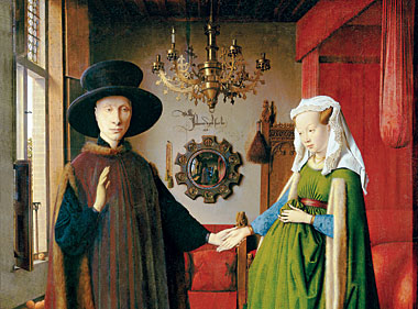 """Résultat de recherche d'images pour """"van eyck arnolfini"""""""