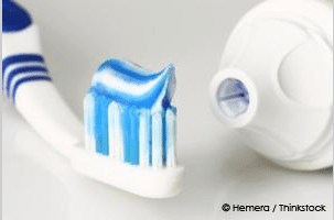 Just some toothpaste. Source Google Images