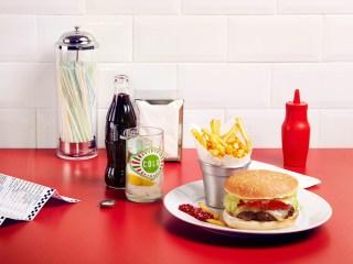 Burger and Coke