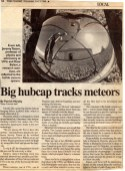 Small Newspaper article