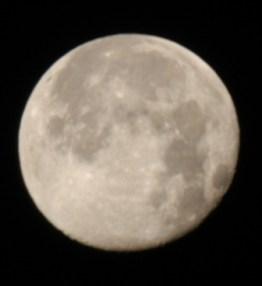 Moon 500mmLens Nikon D100