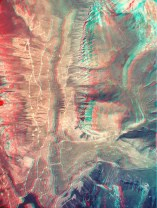 3D Anaglyph of Mid White R. Gorge