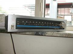 Pioneer radio tuner 70s