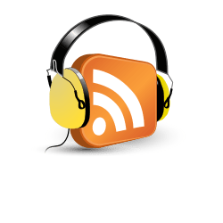 English: Podcast or podcasting icon Français :...