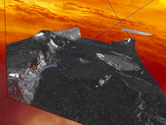 Part of Mouna Loa (obtained from http://www.opentopography.org/)