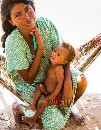 SAIL has the main objective to help reduce malnutrition and maternal mortality on the indigenous population. ( Photo by Smiley N. Pool / © 2015 )