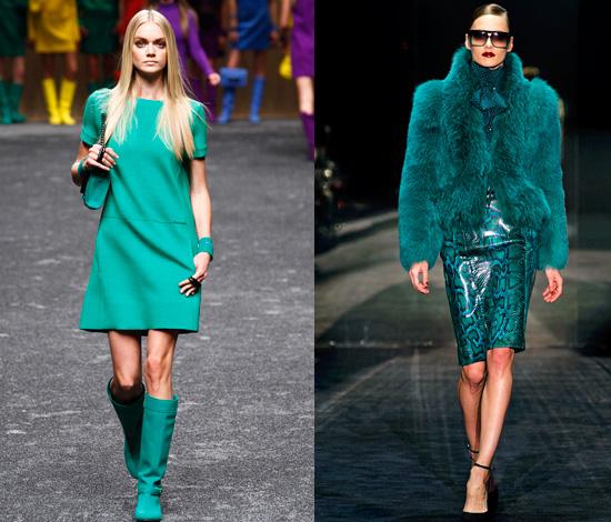 blumarine-gucci verde f/w 2011 2012