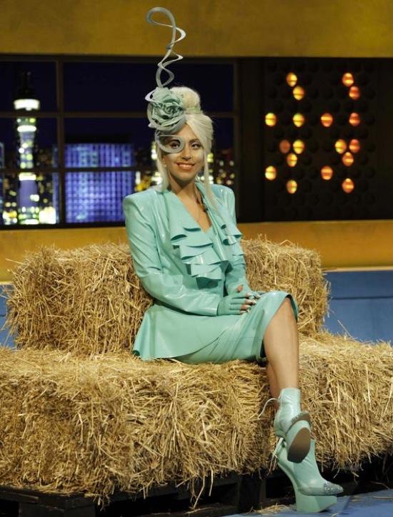 Lady Gaga in Atsuko Kudo for 'The Jonathan Ross Show'