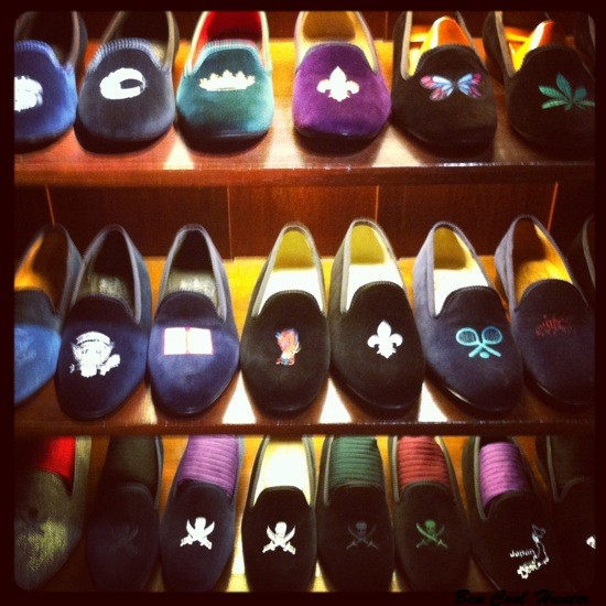 bow tie slippers barcelona