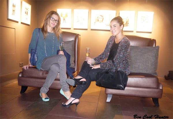 con Anna de AddictSmile en la Galería Loewe