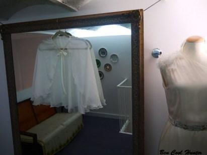 capa vestido novia