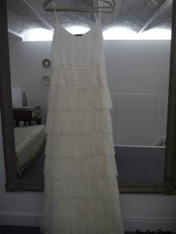 vestido largo blanco otaduy