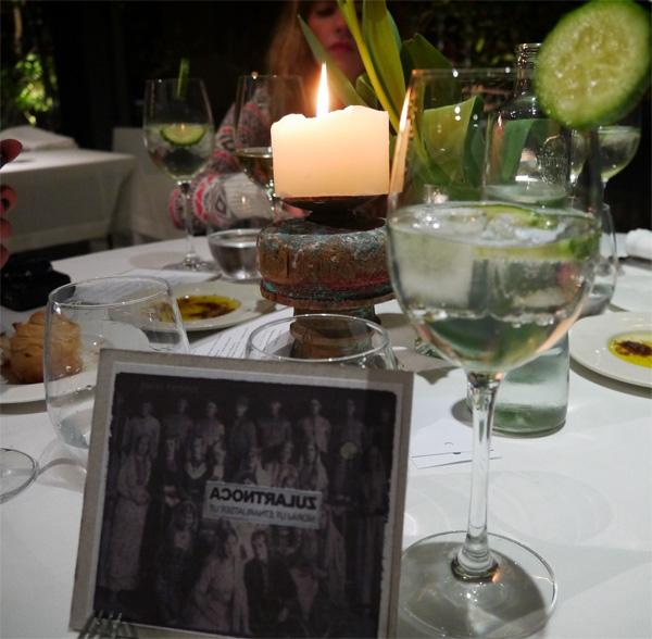 gin tonic acontraluz menu tartaro