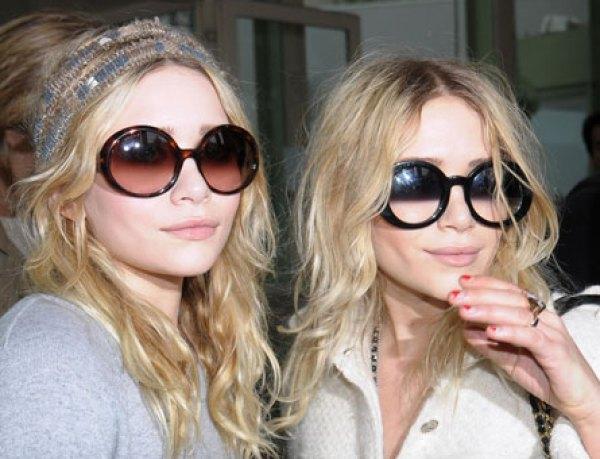 Mary-Kate-Ashley-Olsen gafas sol redondas