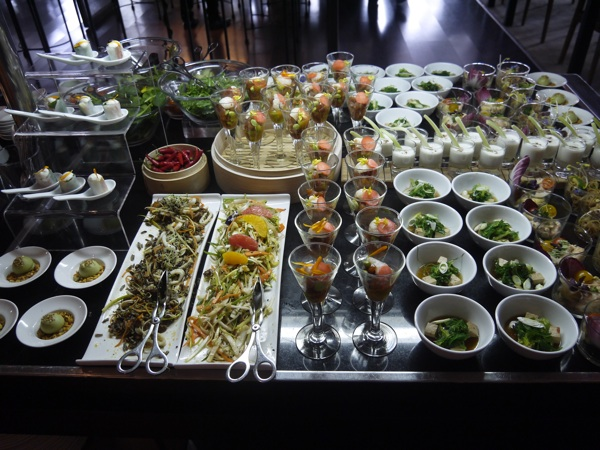 brunch asiatico hotel arts