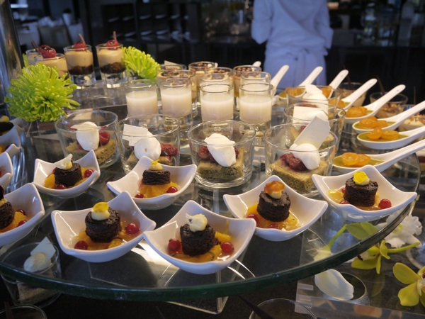 postre brunch hotel arts