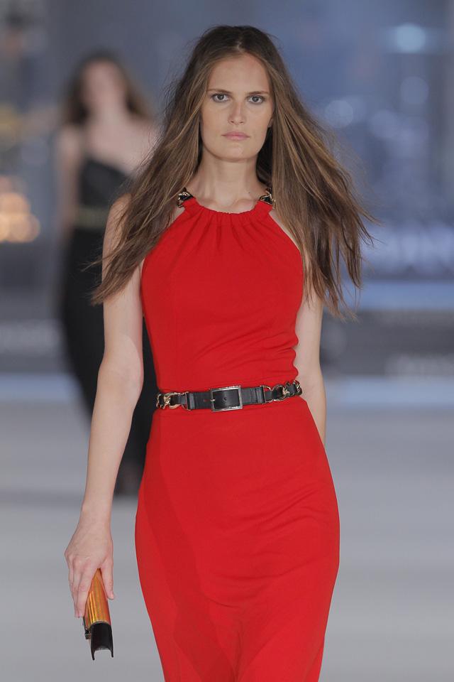 MANGO_vestido rojo