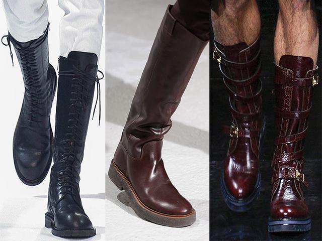 zapatos BOTAS ALTAS
