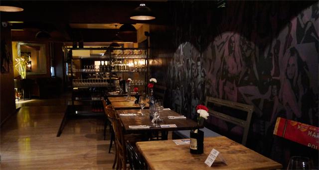 Restaurante Collage Barcelona cocina creativa non stop en