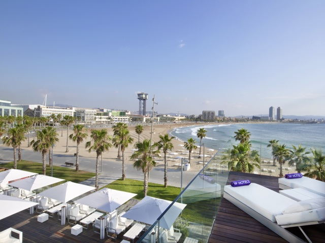 Agosto de terraceo de lujo por los hoteles de Barcelona