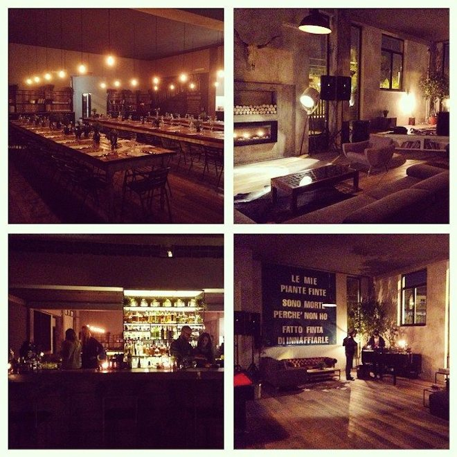 cohouse roma_temporary restaurant