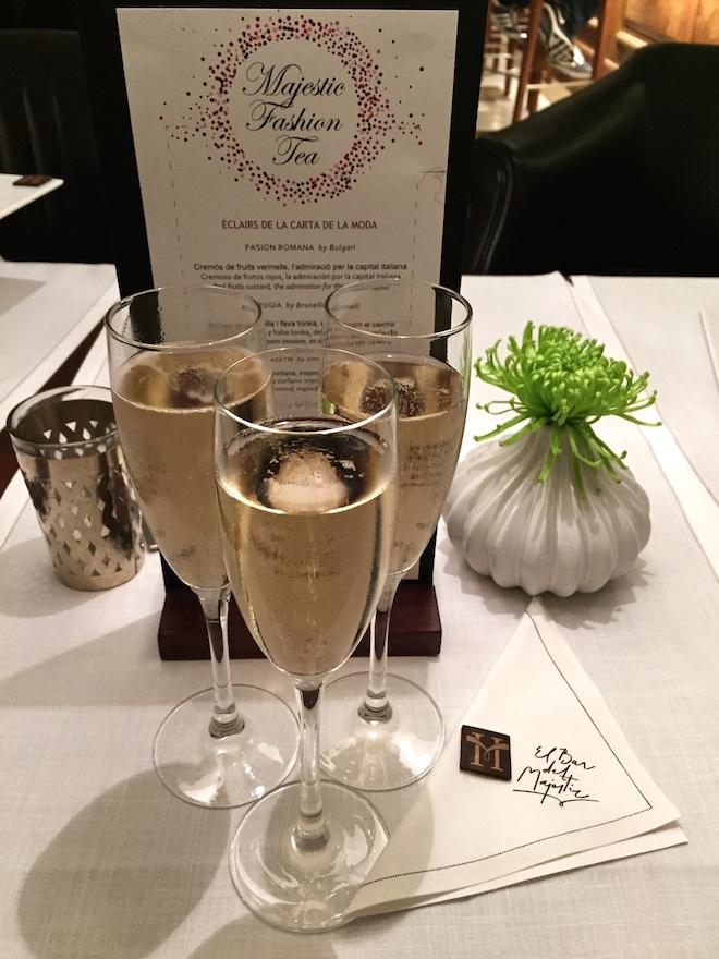 majestic fashion tea copa champagne