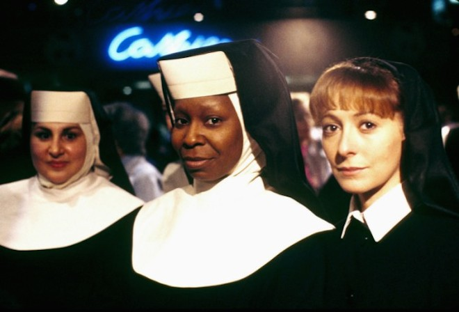 1992, SISTER ACT pelicula