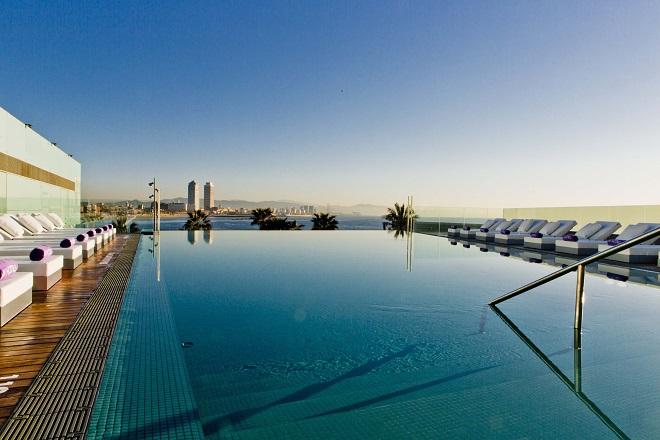 SUN DECK w barcelona terraza