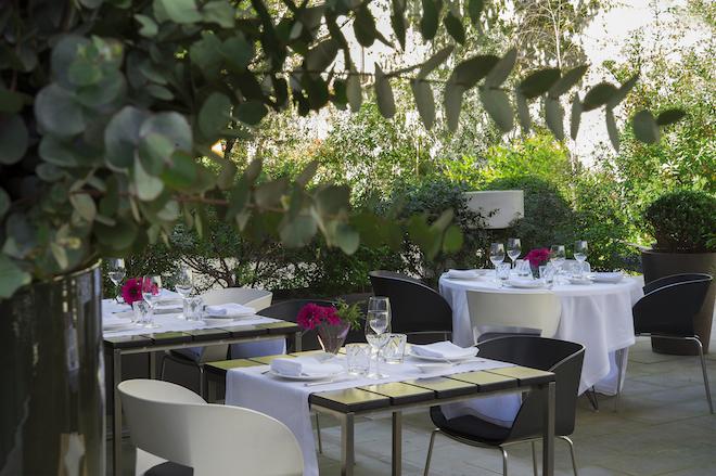 restaurante jardin alma barcelona