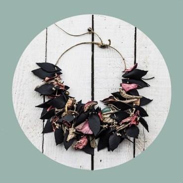 leaves salvia potpourri joyas artesanales