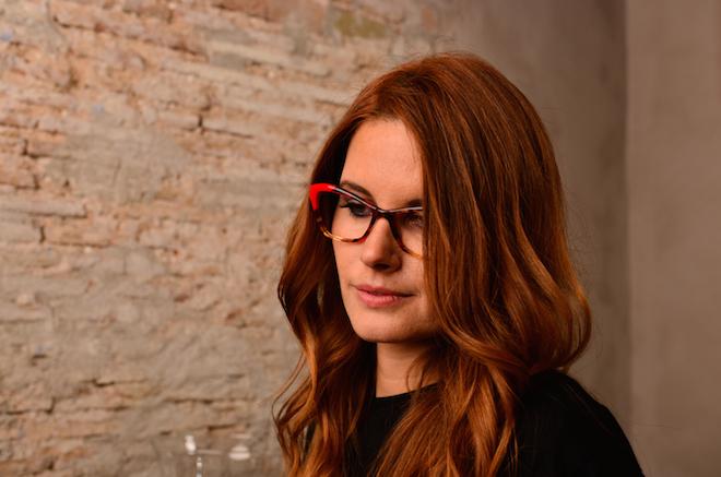 Dafne Patruno the fab glasses