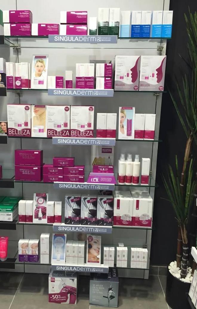 singularderm productos cosmetica molecular