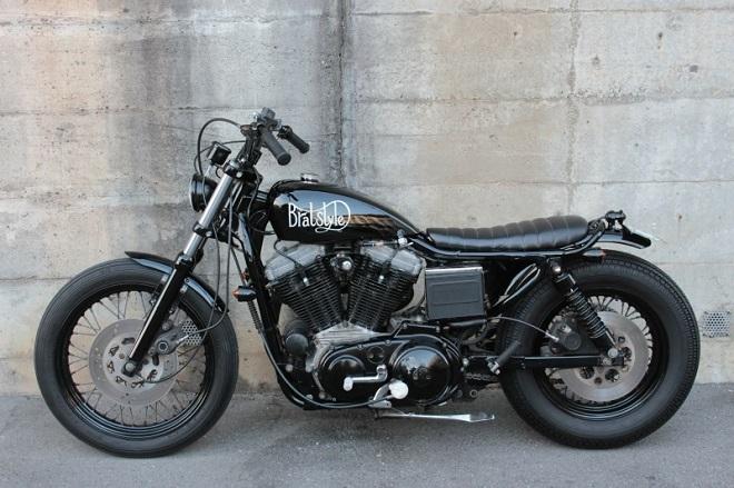 moto estilo retro brad style