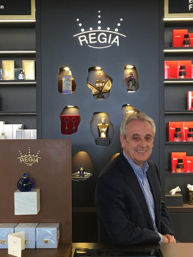perfumerias regia perfume autor