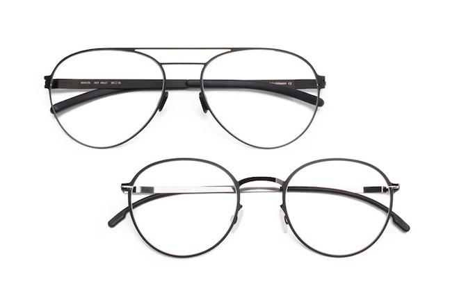 mikita gafas de moda metal