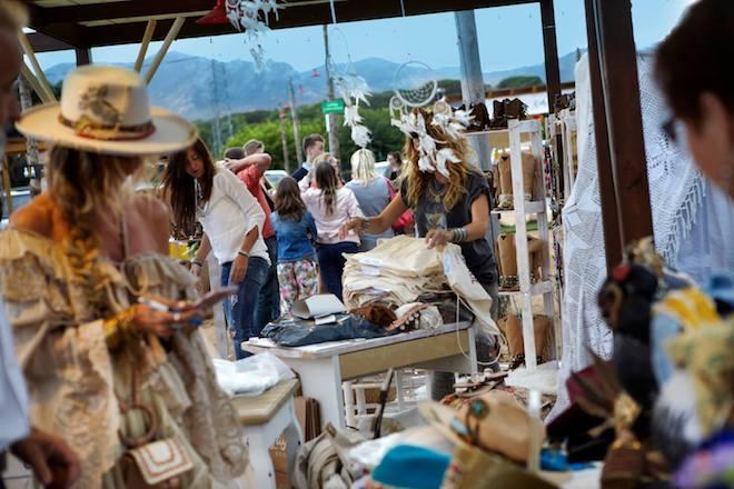 la santa market boho market