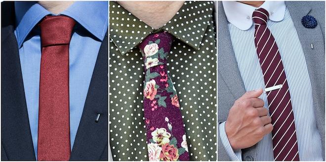 accesorios moda hombre corbatas rojas