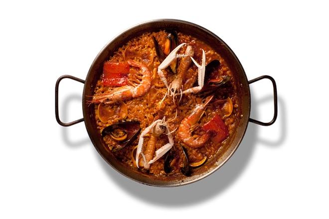 mangiare paella a Barcellona