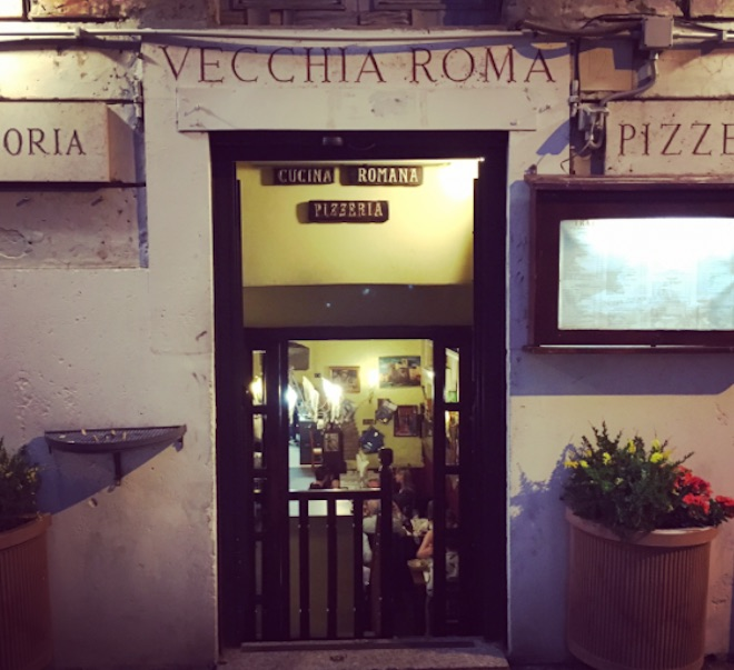 trattoria vecchia roma ristorante