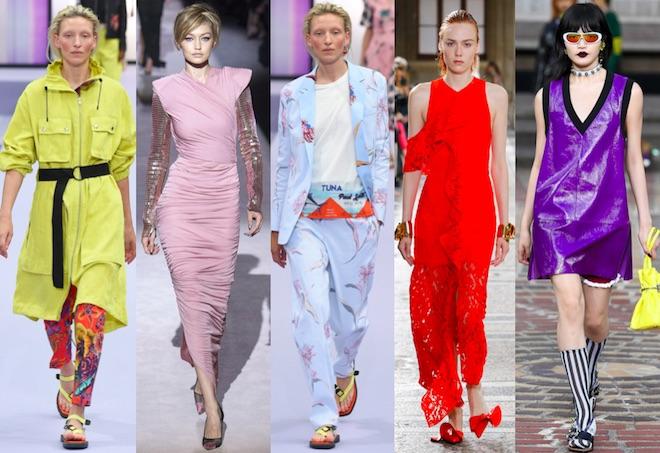 colores moda primavera verano 2018