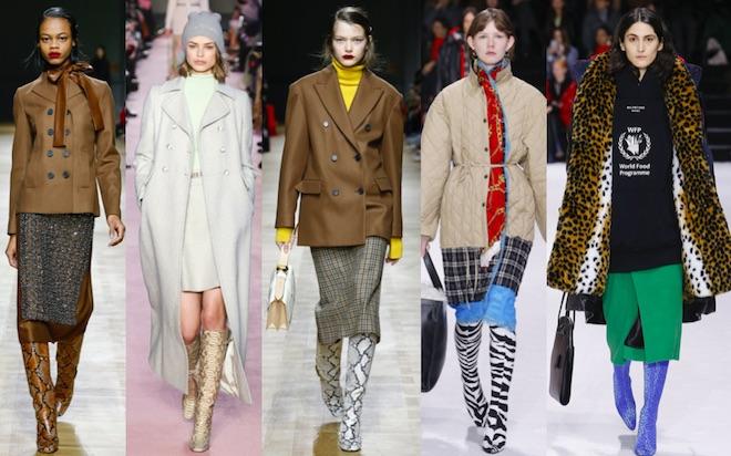 botas animalier moda invierno 2018