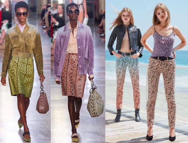 moda verano 2018 animal print