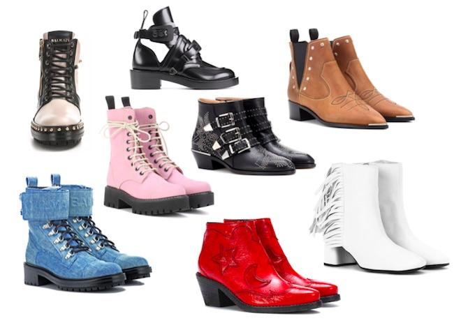 zapatos de moda pv18 botines