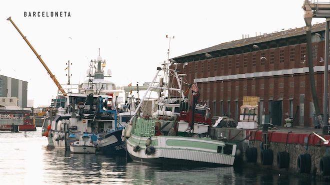 van van market pescadores