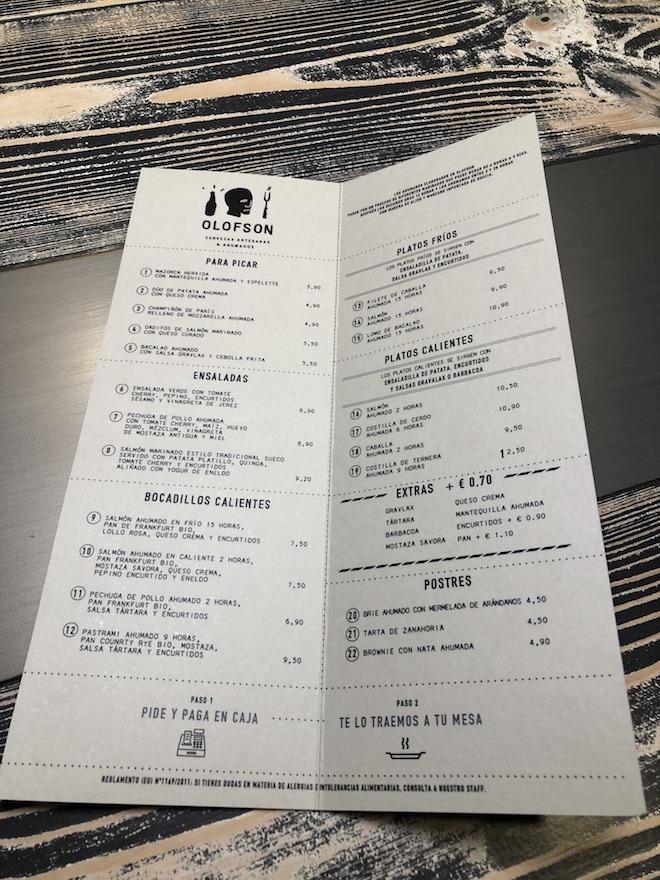 olofson smokehouse menu