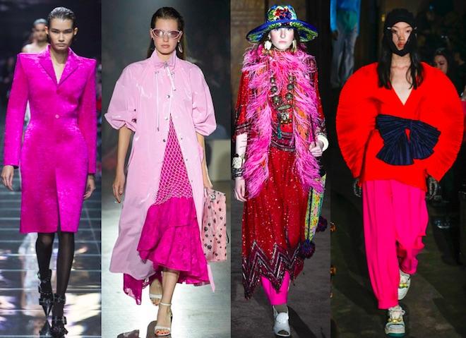 colores de moda primavera 2019 fucsia