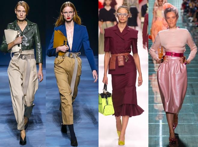 tendencias moda Primavera Verano 2019 cintura