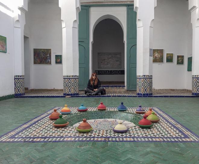 escapada a marrakech ciudad roja museo